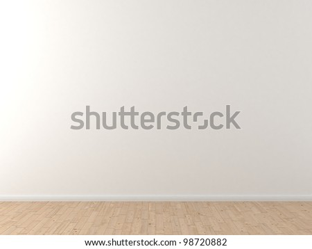 white wall - stock photo