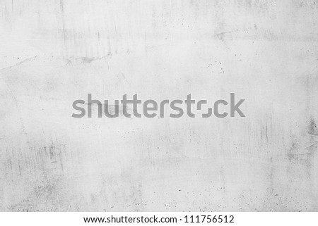 White wall background in interior - stock photo