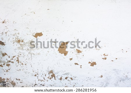 White wall background texture