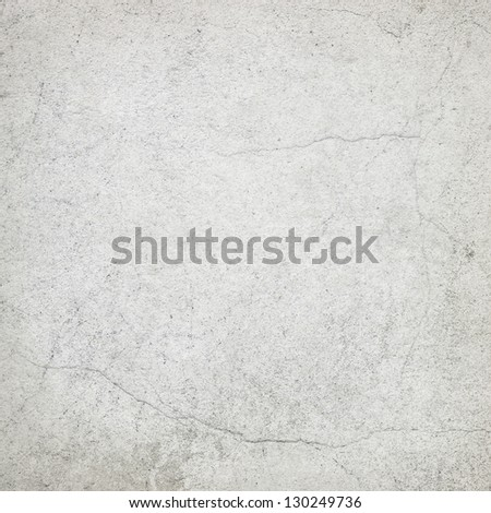 white wall texture, grunge background - stock photo