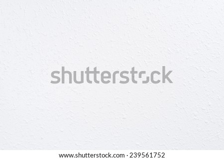White Wall with Spattered Spray Texture - stock photo