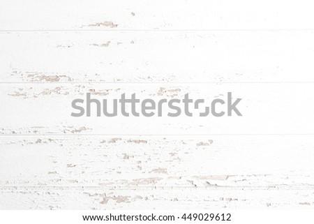 white wood background texture - stock photo