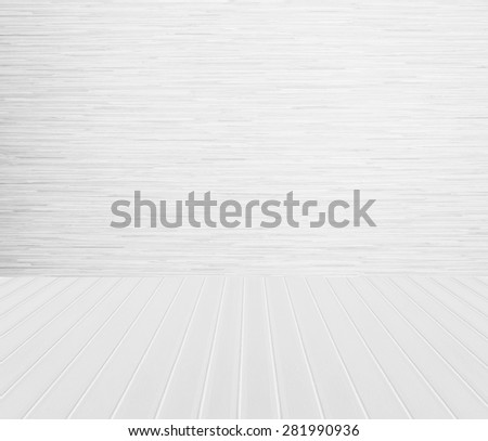 White wood texture background. - stock photo