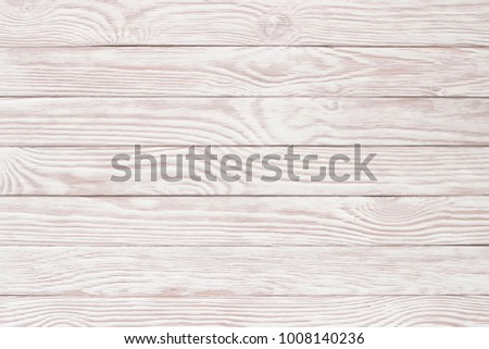 White wood texture, bright plank surface table