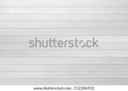 white wood texture for background - stock photo