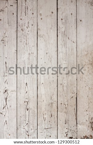 white wood texture with natural patterns - stock photo
