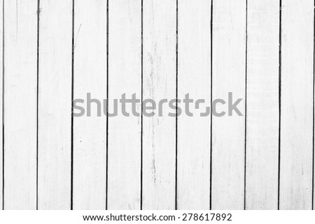 White wood textures background - stock photo