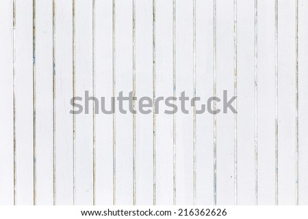 white wooden background of beach huts in Miami - stock photo