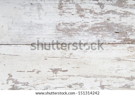 White wooden backround - stock photo