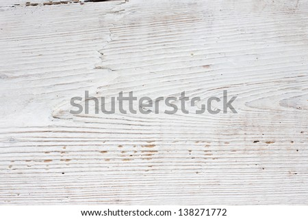 White wooden old texture. - stock photo