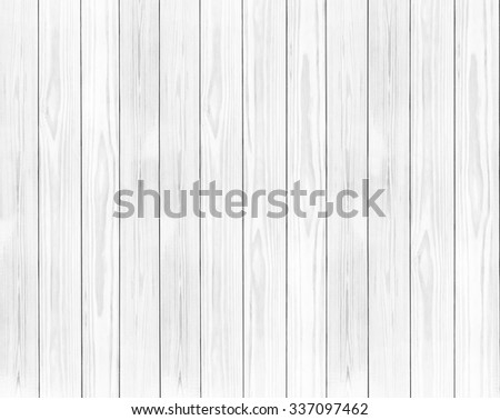 White wooden wall background. - stock photo