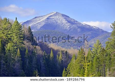 Whiteface Mountain, Adirondacks, New York - stock photo