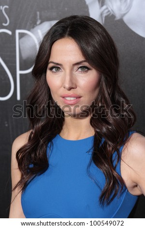 """Whitney Cummings at the """"This Means War"""" Los Angeles Premiere, Chinese Theater, Hollywood, CA 02-09-12 - stock photo"""