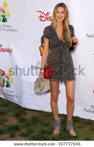 """Whitney Port  at """"A Time For Heroes Celebrity Carnival"""" benefitting the Elizabeth Glaser Pediatric AIDS Foundation. Wadsworth Theater, Los Angeles, CA. 06-08-08 - stock photo"""