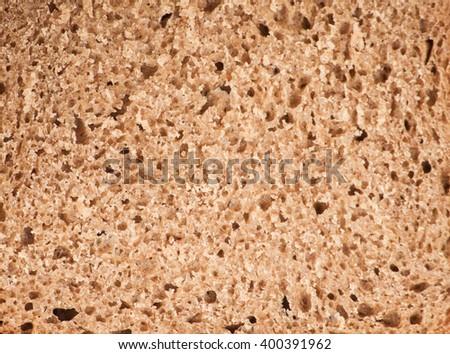 Whole grain bread texture background - stock photo