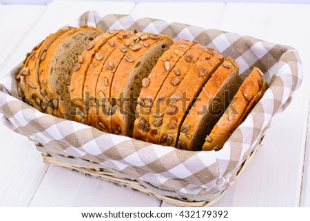 Whole Wheat Bread Studio Photo