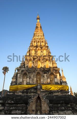 Wiang Kum Kam  Chiang Mai Thailand. - stock photo