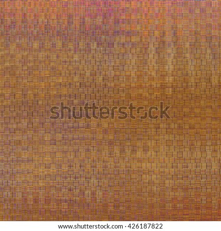 Wicker abstract background - stock photo
