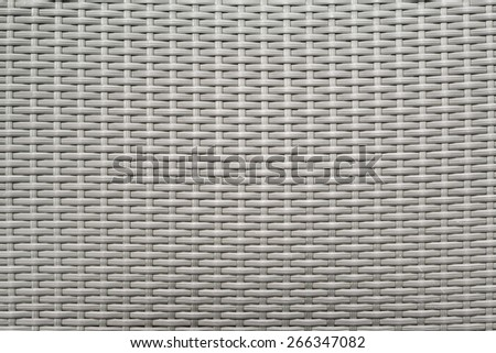 Wicker background in high detail - stock photo