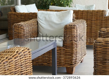 Wicker Furniture Stock Images RoyaltyFree Images Vectors