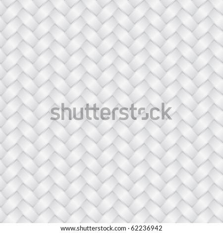 Wicker white background (seamless pattern) - stock photo
