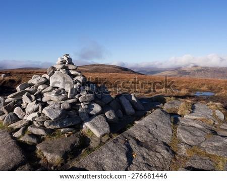 Wicklow mountains, Ireland - stock photo