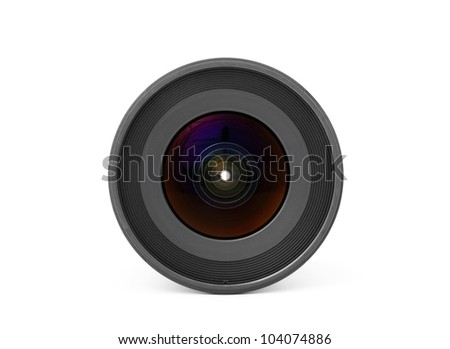 Wide angle Lens, front view