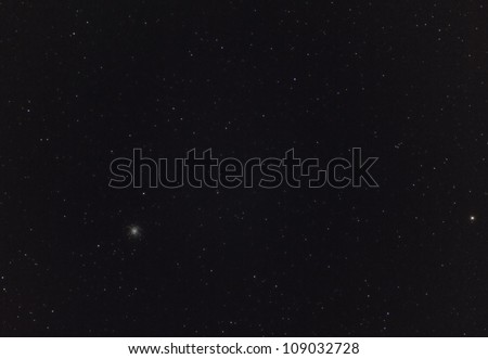 Wide Field View of the Hercules Globular Star Cluster