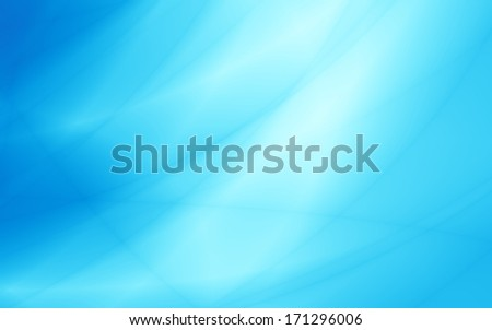Wide turquoise blue summer abstract background - stock photo