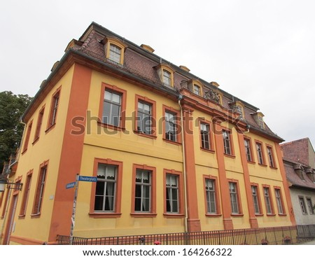 Widow Palace in Weimar, Germany