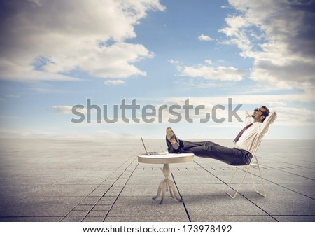 wifi outside - stock photo