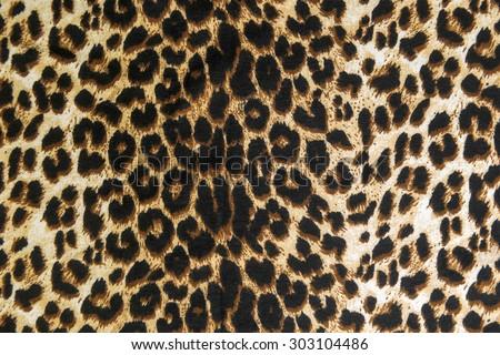 wild animal pattern background or texture - stock photo