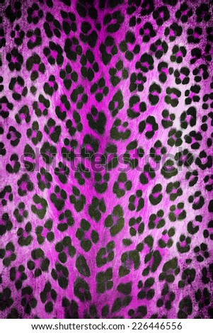 Wild animal skin pattern - stock photo