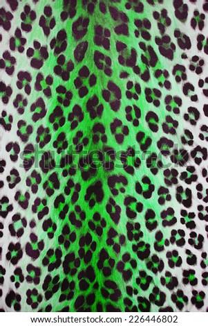 Wild animal skin pattern - stock photo