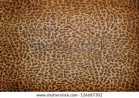 Wild animal skin pattern - material - stock photo