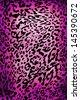 Wild animal skin pattern - material texture - stock photo