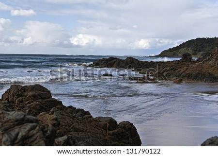 Wild coast in the North of Crete � Bali - stock photo