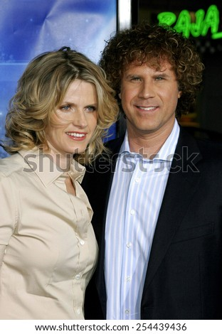 "Will Ferrell and Viveca Paulin attend the Los Angeles Premiere of ""Blades of Glory"" held at the Mann's Chinese Theater in Hollywood, California on March 28, 2007.  - stock photo"
