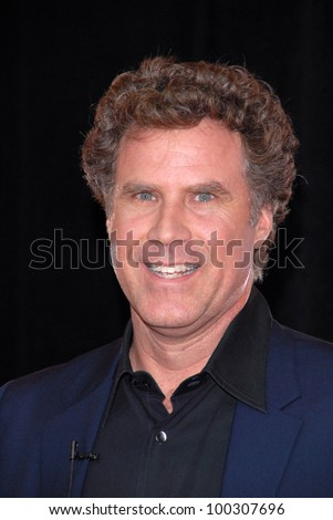"Will Ferrell  at the ""Burlesque"" Los Angeles Premiere, Chinese Theater, Hollywood, CA. 11-15-10 - stock photo"