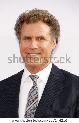 "Will Ferrell at the Los Angeles premiere of 'Campaign"" held at the Grauman's Chinese Theater in Hollywood on August 2, 2012.  - stock photo"