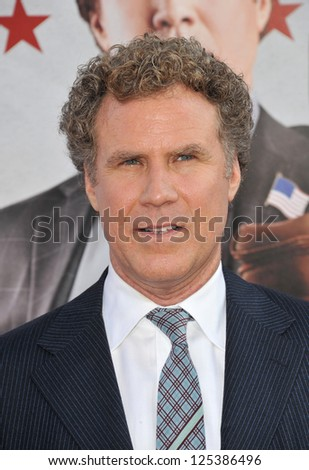 Will Ferrell at the Los Angeles premiere of his movie The Campaign at Grauman's Chinese Theatre, Hollywood. August 3, 2012  Los Angeles, CA Picture: Paul Smith - stock photo