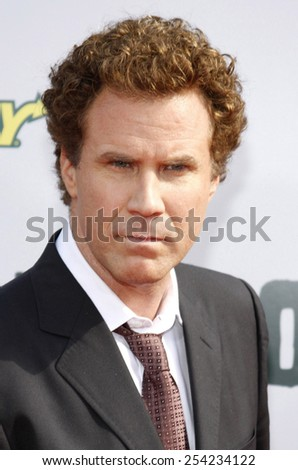 "Will Ferrell at the Los Angeles Premiere of ""Land of the Lost"" held at the Grauman's Chinese Theater in Hollywood, California, United States on May 30, 2009.  - stock photo"