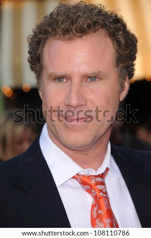 "Will Ferrell  at the Los Angeles Premiere of ""Step Brothers"". Mann Village Theatre, Westwood, CA. 07-15-08 - stock photo"