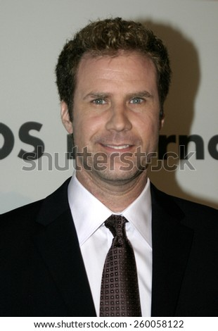 Will Ferrell at the 75th Diamond Jubilee Celebration for the USC School of Cinema-Television held at the USC's Bovard Auditorium in Los Angeles, United States on September 26 2004. - stock photo