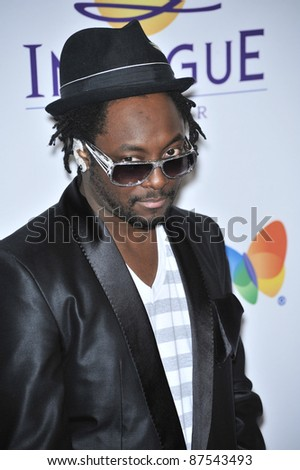 will.I.am of the Black Eyed Peas at music mogul Clive Davis' annual pre-Grammy party at the Beverly Hilton Hotel. February 9, 2008  Los Angeles, CA Picture: Paul Smith / Featureflash