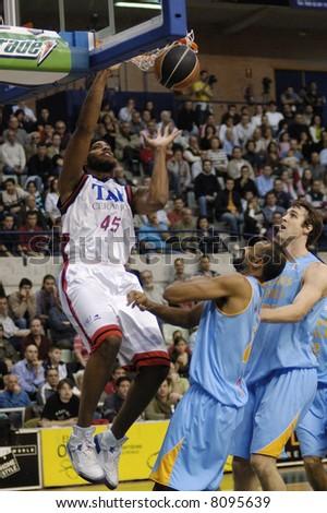 Will McDonald dunk - stock photo