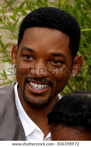 Will Smith at the Los Angeles premiere of 'The Karate Kid' held at the Mann Village Theater in Westwood, USA on June 7, 2010. - stock photo