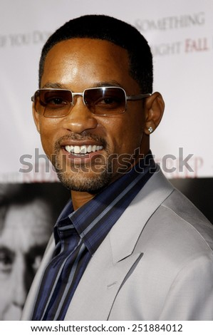 """Will Smith attends the AFI Fest Opening Night Gala Premiere of """"Lions for Lambs"""" held at the ArcLight Theater in Hollywood, California, United States on November 1, 2007.  - stock photo"""