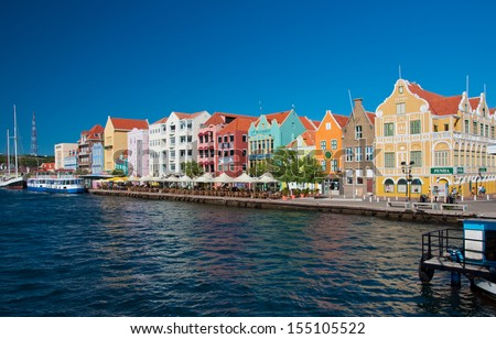 Willemstad, Curacao, Netherlands Antilles - stock photo