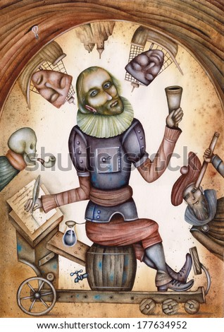 William Shakespeare - stock photo